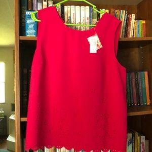 Roz & Ali sleeveless shirt